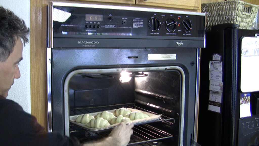 how to make frozen croissants rise faster