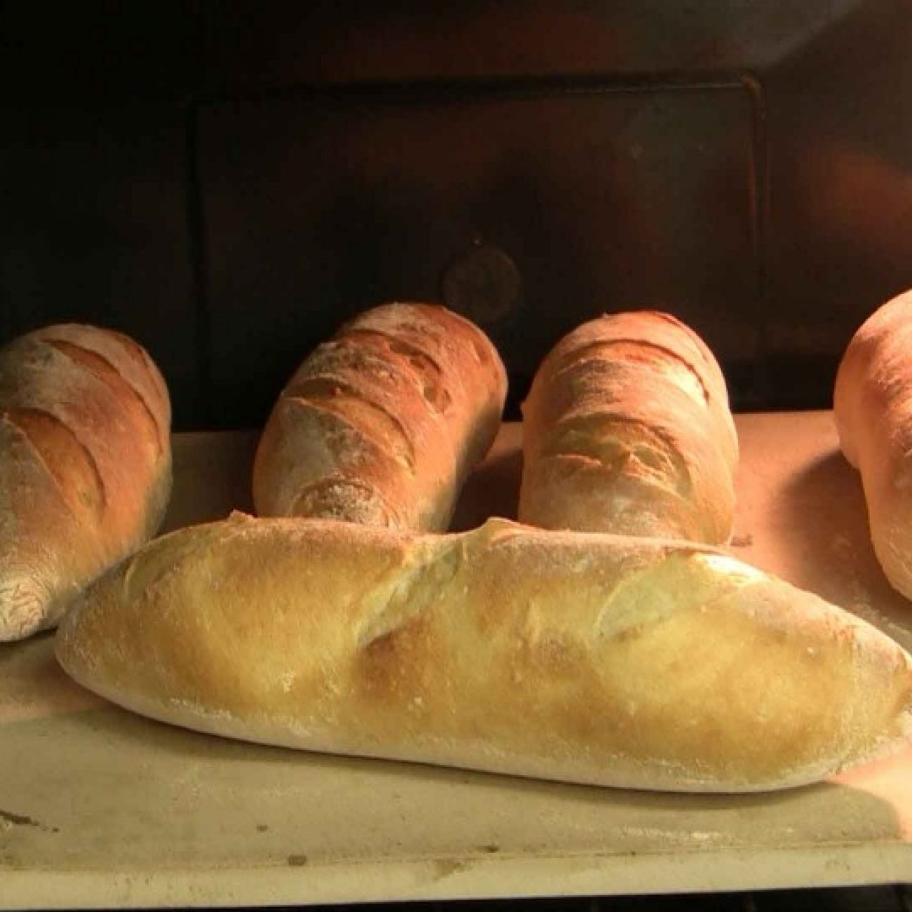 Video Recipe for sourdough Baguettes