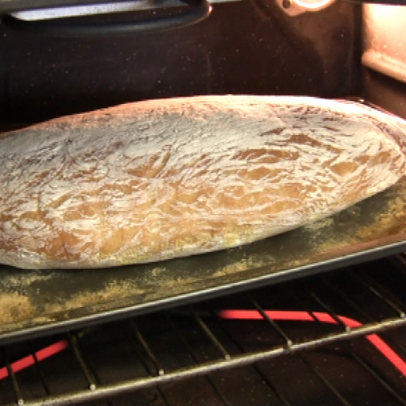 Video Recipe for super simple slow-rising ciabatta